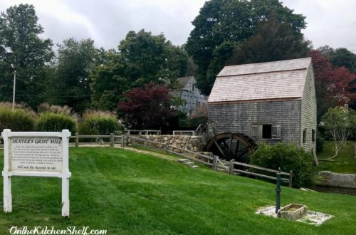 A picture of the Dexter Grist Mill in Sandwich Massachusetts
