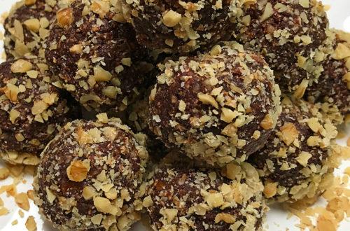 Chocolate Walnut Date Bites