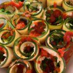 Zuccchini Lasagna Roll-Ups
